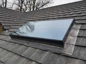 Solaglaze/Skylight/Glass Flat Rooflight Double Glazed 600X600 GREY SALE!!!