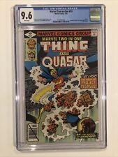 Marvel Two-In-One #53 CGC 9.6 John Byrne 1979 Fantastic Four