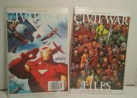 2 Civil War: Battle Damage Report & Files #1;  (2006) Marvel Comics