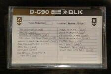Metallica Live At Festival Hall Osaka Japan 1986 Promo Cassette New And Sealed!