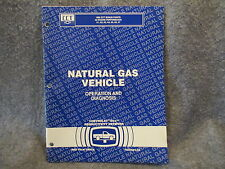 1993 Chevrolet Natural Gas Vehicle Operation & Diagnosis Manual Guide Book W437