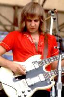 Alex Lifeson Of The Band Rush Performs At Comiskey Park 1979 OLD MUSIC PHOTO 2
