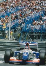 Gianni Morbidelli Hand Signed 12x8 Photo Footwork F1 1.