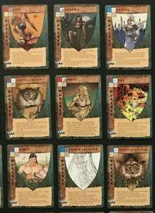 Bloodwars 1995 TSR CCG game card lot of 50 random cards -  Blood Wars