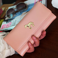 new fashion long horse style Women Purse clutch Wallet Card Holder Handbag gift