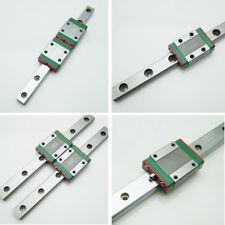 HIWIN Linear Rail Guide MGNR7 L- 400mm&MGW7R L- 400mm&MGN7C&MGW7H Rail Block CNC