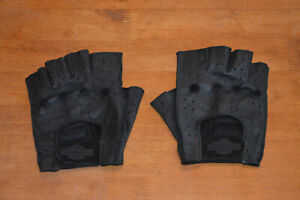 Genuine Harley Davidson Fingerless Riding Gloves