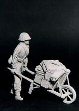 RESICAST 35-502 - GERMAN PUSHING WHEEL-BARROW - 1/35 RESIN KIT