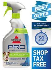 Bissell Destroyer Pet Plus Oxy Stain Pretreat Eliminates Tough Pet Odors 22 oz