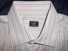 SOLEMARE MAUS & HOFFMAN LONG SLEEVE DRESS SHIRT SIZE 16.5 35  ITALY.! SUPERB.!!