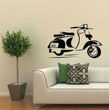 80x50 cm. New Design sticker vespa wall art decorate Bed room , kid room # V4