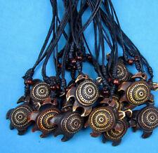 Wholesale lot 12 pcs Sea turtle pendant necklace