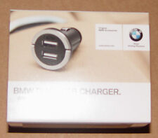 BMW OEM Dual USB Charger For Cigarette Lighter Apple iPod iPad iPhone All Models