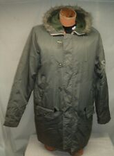 70's JC PENNY Towncraft PARKA Men's Large Tall N3b Snorkel Vintage Quality Green