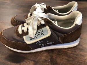 vintage kangaroos womens 8.5 shoes brown