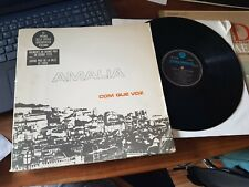 AMALIA RODRIGUES COM QUE VOZ PORTUGAL LP incl. Booklet EX / EX+