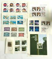 NZ397) New Zealand 1989 Minisheets & Sets CTO/Used