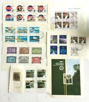 NZ397) New Zealand 1989 Minisheets & Sets CTO/Used