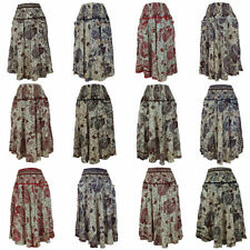 Rayon Hippy, Boho Casual Skirts for Women