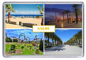 Salou, Spain Fridge Magnet 01