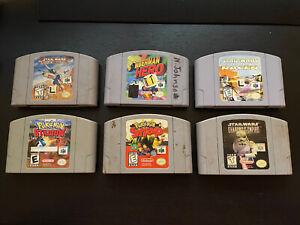 Lot of 6 N64 Games