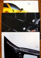 Corvette Book Set 2010 2011 2012, Brochure Lot C6 Z06 Z51 GM