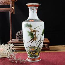 Classic Traditional Antique Chinese Porcelain Flower Vase For Home Office Decor