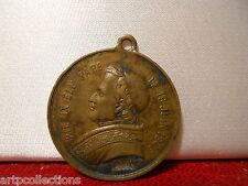 MÉDAILLE ANCIENNE 29mm PAPE PIUS IX VATICAN PAPAL MEDAGLIA