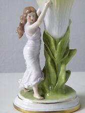 Scheibe-Alsbach Vase mit Figur (2), um 1930