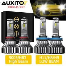 AUXITO Combo H11 9005 LED Headlight Bulbs for Honda Accord 2013-2018 6000K White