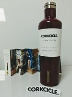 Canteen Water Bottle and Thermos, Corkcicle, 25 oz Gloss Merlot