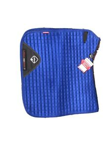 LeMieux Prosport Dressage Saddle Pad - Blue - Large