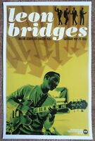 LEON BRIDGES 2016 Gig POSTER Portland Oregon Concert