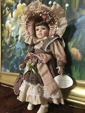 18 Inches High Quality Imperial Design Collectible Porcelain Doll