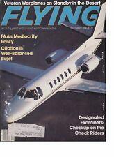 Flying Magazine (Dec 1980) (Citation II, Designated Examiners, AMARC, Tri-Pacer)