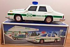 Hess Truck...PATROL POLICE CAR 1993 w/Box ...lights, flashers, sirens