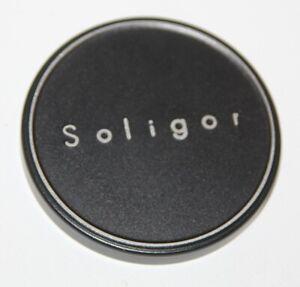 Soligor - Genuine 57mm Metal Slip-On Lens Cap for 55mm Lens Front - vgc