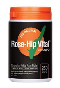 Rose-hip Vital Natural Arthritis Pain Relief Caps x250