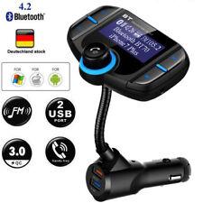 FM Transmitter Auto Bluetooth4.2 Digital DAB-Empfänger QC3.0 2-USB KFZ-Ladegerät