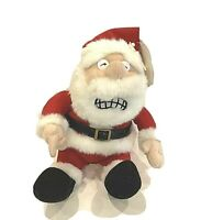 "Humurous Vintage ""Pull My Finger""  Christmast, Santa Funny Plush Toy"