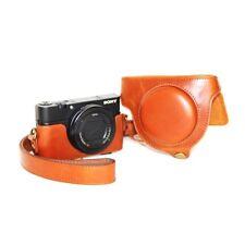PU Leather Case or Sony RX100,  II M2, III M3, IV M4, RX100 V M5 Digital Cameras