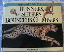 Runners, Sliders, Bouncers, and Climbers : A Pop-Up Look Book. Nick Bantock