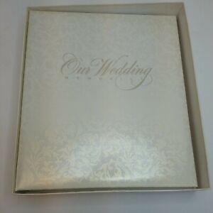 VINTAGE NEW HALLMARK OUR WEDDING ALBUM GUEST MEMORY BOOK 1990's