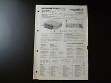 Original Service Manual Blaupunkt Autoradio Frankfurt Stereo CR Super Arimat