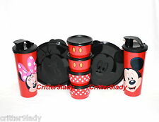 NEW Tupperware Disney Mickey Mouse & Minnie Mouse Magical Snack Set