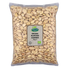 Organic Blanched Almonds 2kg Certified Organic