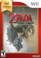 NEW The Legend of Zelda: Twilight Princess (Nintendo Wii, 2006) Selects