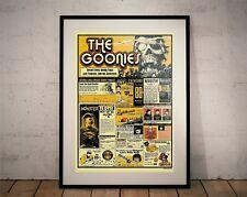 The Goonies Ltd Edition Print (Poster, Corey Feldman, Sean Astin)
