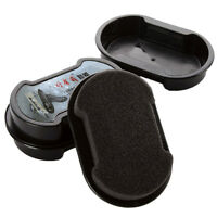 New Quick Shine Shoes Shine Sponge-Brush Polish Dust Cleaner Cleaning Tool cool
