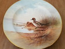 Tiffany & Co Hand Painted Royal Crown Derby China Plate Pintail Duck D. Birbeck